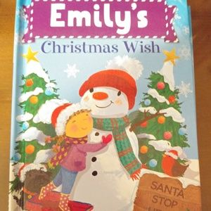 Personalized My Christmas Wish Book for Kids